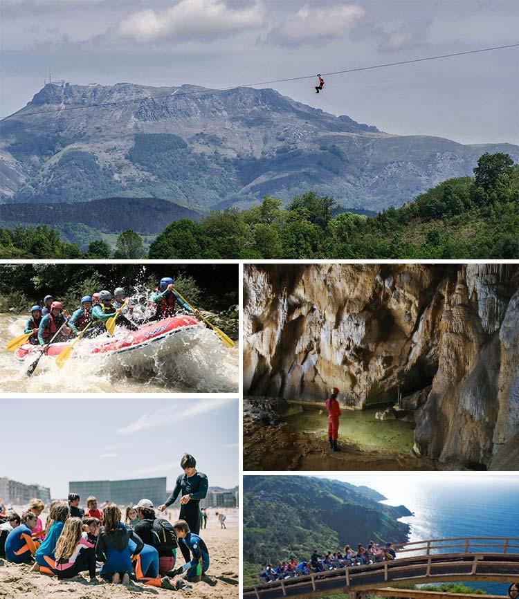 excursiones y actividades para realizar en grupo en pais vasco y navarra