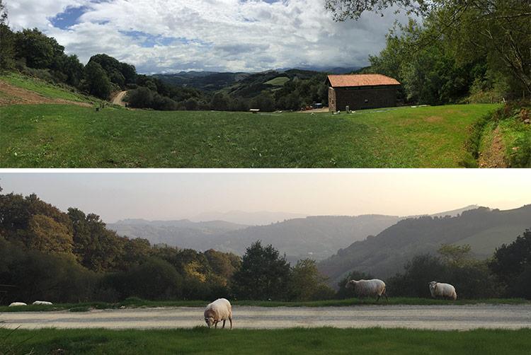 alojamiento rural en plena naturaleza entre montañas de navarra y francia