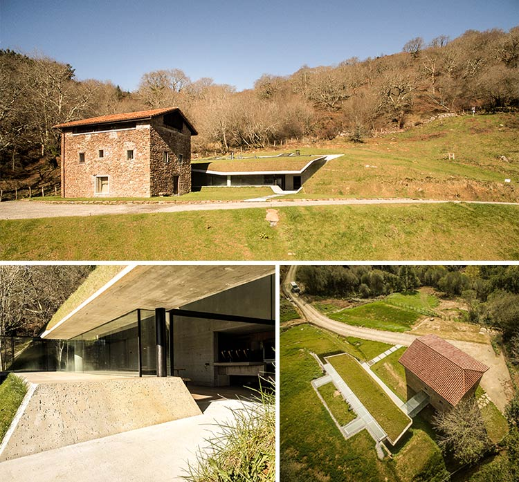 casa rural inmersa en plena naturaleza entre montañas