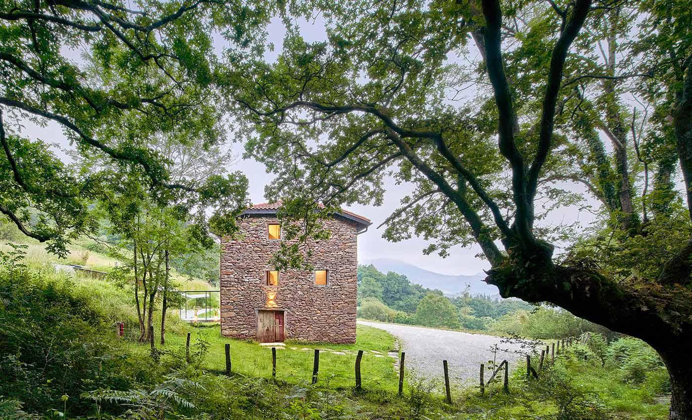 vacaciones escapada rural en navarra casa alquiler completo para grupos